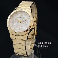 Jam Tangan Wanita / Cewek Swiss Army 2286 Gold (original)
