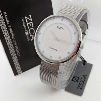 Jam Tangan Wanita / Cewek Zeca 1001 Silver (original)