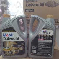 oli mobil delvac 1 5w40 fully siynthetic kemasan galon