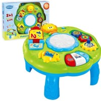 Mainan Edukatif / Edukasi Anak Bayi Musical Learning Table Animal Lagu