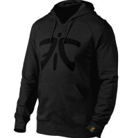 Fnatic 2016 Black Hoodie Jumper Jacket Jaket Sweater Gaming