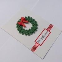 Quilling Card/ Kartu Ucapan/ Christmas Card/ Kartu Natal