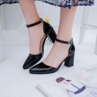 harga Sepatu High Heels Gelang | High Heels Kantor Ce - Hitam Tokopedia.com