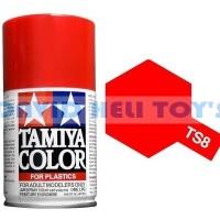 Paint Tamiya TS-8 Italian Red Spray Can