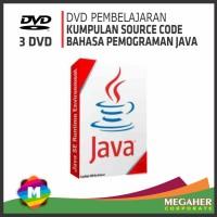 Paket DVD Source Code JAVA (Bahasa Pemograman Java)