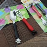 sendok garpu makan kecil untuk anak - kkn002