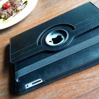 Black Leather Case iPad 2/3/4