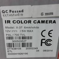 Camera Infinity X37 700Tvl Sony SuperHAD2 Berkualitas