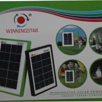 Jual POWER BANK SOLAR CELL PAKET DGN 1LAMPU LED Murah Murah