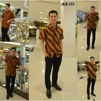 Kemeja Batik Sogan  HB 185