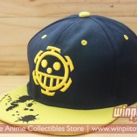 harga Snapback Logo Trafalgar Law / Topi Anime One Piece Tokopedia.com