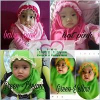 Jual Jilbab Rempel Bayi/anak Murah