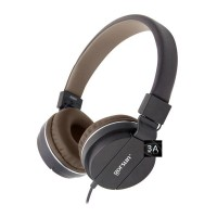 Gorsun Gs-779 Black 3.5mm Adjustable Foldable Wired Stereo Headset