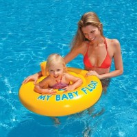 Pelampung My Baby Float Swimming Seat 6 month -1 Years - INTEX #56585