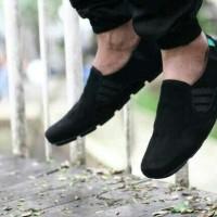 harga diskon sale sepatu kickers suede slop slip on casual flat men santai 2 Tokopedia.com