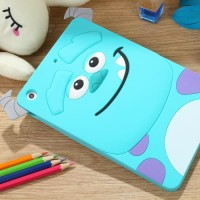 Apple Ipad 2/3/4 Case Silicon 3D kartun Sulley Softcase Casing Hp
