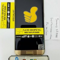 Samsung S7 EDGE LCD + Touchscreen + Frame Casing Tulang Original