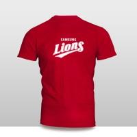 KAOS BAJU DISTRO OLAHRAGA - Kaos Baseball Samsung Lions Logo 3