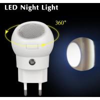Lampu Tidur LED 360 Derajat Rotasi Auto Sensor 110V-240V EU Plug