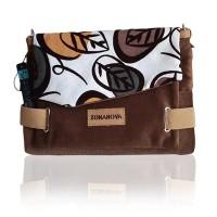 harga Tas Selempang Wanita Zonanova Coklat dahon Small Bag Wanita Tokopedia.com