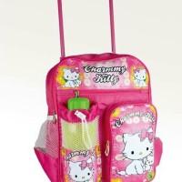 Tas Ransel Troli Anak Sekolah Perempuan Hello Kitty (KGRD67)