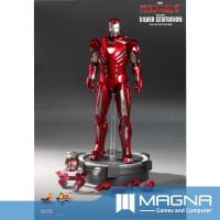 Hot Toys - 1:6 Iron Man 3: Mark XXXIII 33 Silver Centurion