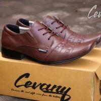 Sepatu Pria Pentofel Casual ORIGINAL Cevany Samak Tali Slipon Loafers