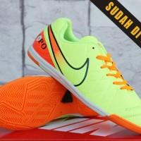 99f25d64857 Sepatu Olahraga Futsal-Soccer Nike Tiempo Legend Hijau KW Super