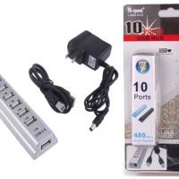 10-Port USB HUB + adaptor