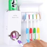 Dispenser pasta gigi tempat sikat gigi praktis odol otomatis murah awe