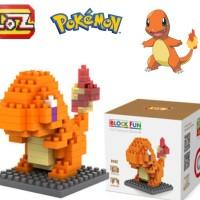 Loz Lego Pokemon Charmander Bricks Nano Block 9142