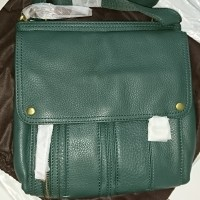 Tas FOSSIL Morgan Traveler Green Hunter