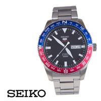Seiko 5 Sports SRP661K1 Automatic Blue-Red Bezel | Jam Pria SRP661