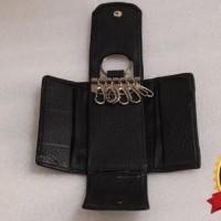 Dompet kulit STNK gantungan kunci mobil/motor HONDA (100% asli kulit