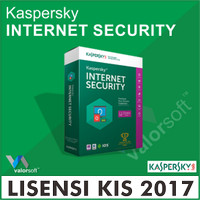 Lisensi Kaspersky Internet Security 2017 1PC - 1 Tahun [Original]