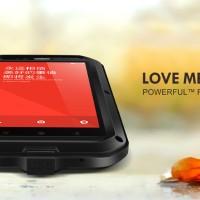 Jual For Xiaomi Redmi Note Casing LOVE MEI Lunatik Powerful Case Anti Shock Murah
