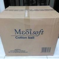 Jual Medisoft Cotton Ball / Kapas Bulat - Grosir Murah