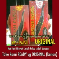 Jual new minyak lintah hitam papua 100% asli box merah Murah