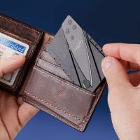 Card knife / pisau lipat seukuran kartu kredit /ATM - pisau lipat mini