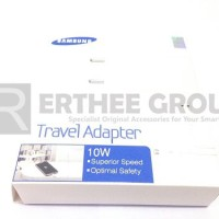 TRAVEL ADAPTER CHARGER SAMSUNG GALAXY NOTE 2 TAB 3 S4 ORIGINAL (WHITE)