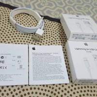 USB kabel data kabel charger iphone 5 6 ori sesuai foto