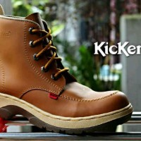SEPATU KICKERS BOOTS HOLY SAFETY TAN 4