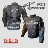 harga Jaket Motor Touring Alpinestar Rc1 (hitam Strip Putih) Tokopedia.com