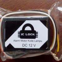 Alarm Motor Kode Lampu IC Lock Berkualitas