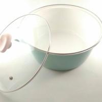 CHEFINA Fannie Blue panci masak dutchoven 22 cm sisa export