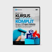 DVD Kursus Web Development Komplit Bangun 5 Project Aplikasi Website