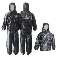 harga Baju dan Celana sauna ADIDAS - multi fungsi jas hujan - rain coat Tokopedia.com