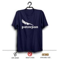 Kaos Band Peterpan Logo Warna Biru Dongker ( distro band terbaru ) wfc