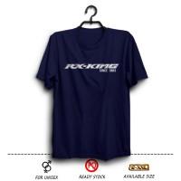 Harga kaos rx king since 1983 biru dongker distro otomotif motor yamaha | antitipu.com