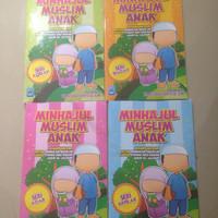Minhajul Muslim Anak 1 set - 4 buku